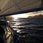 Sunset Departure from BVI