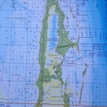 Chart of Normans Cay